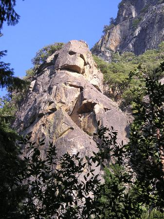 Yosemite West High Sierra Bed and Breakfast: Darth Vader monument
