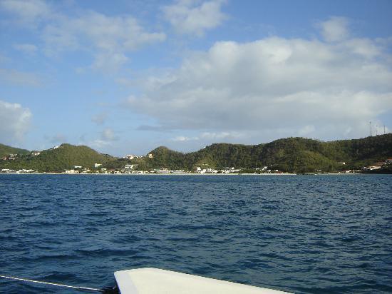 Spice Island Beach Resort : Grand Anse Bay from Shadowfax