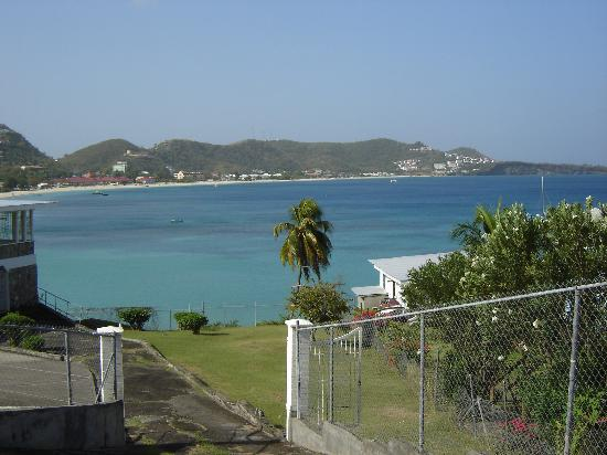 Spice Island Beach Resort : Grand Anse Bay from St Georges