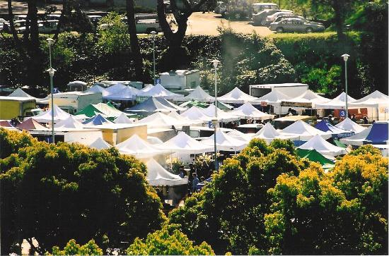 Marin County Farmers' Market--San Rafael: 3rd largest market in California