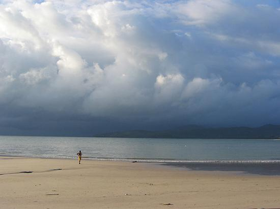 View of the beach from Bangtao Beach Cottages in August 2003 (pre-Tsunami). Quite magical...