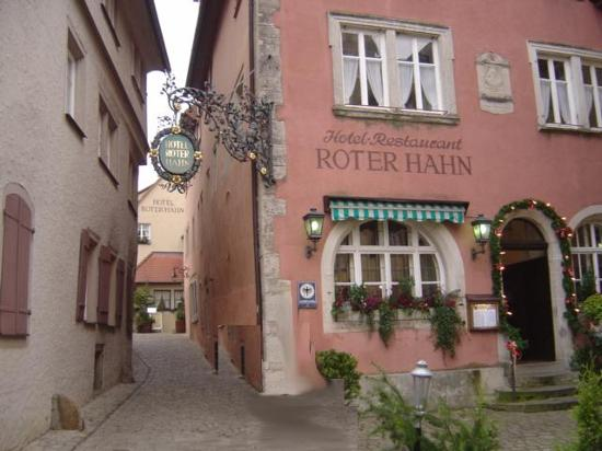Roter Hahn Rothenburg