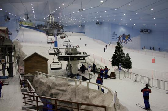 Ski Slope In Dubai Part Of Mall The Emirates