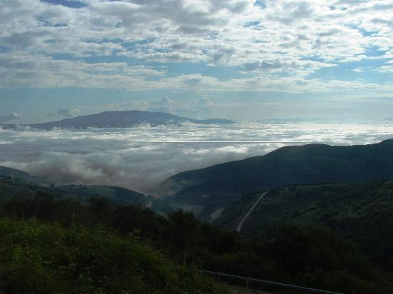 Kyustendil Province, Bulgaria: Abive the clouds Osogovo mountains