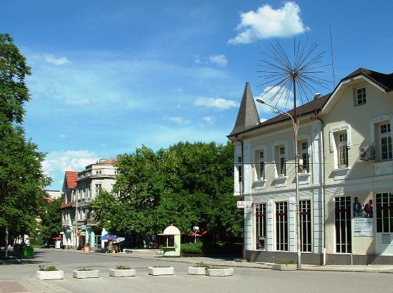 Kyustendil Province, Bulgaria: Town square Kyustendil