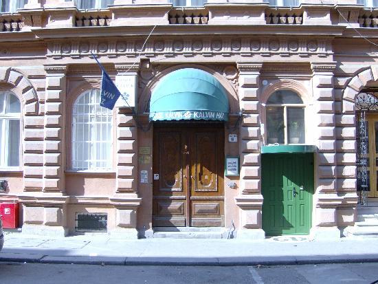 Hotel Kalvin House: Entrance to the kalvin House