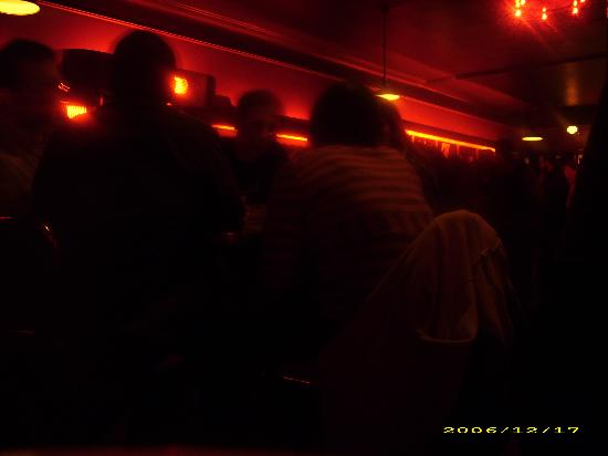 California Clipper : A terrible picture of the bar taken from a booth after one too many Singapore Slings.