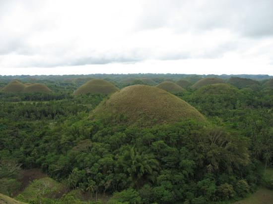 Alona Tropical Beach Resort: Chocolate Hills