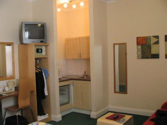 Comfort Inn and Suites King's Cross / St. Pancras : Room
