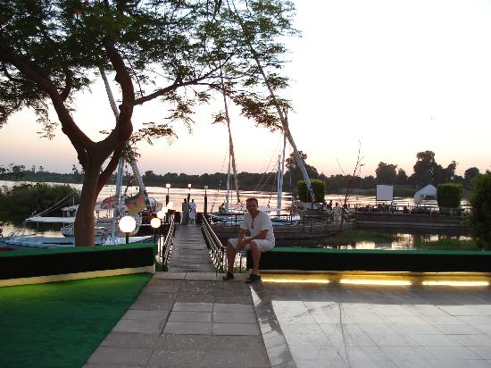 Jolie Ville Hotel & Spa - Kings Island, Luxor: The hotel jetty