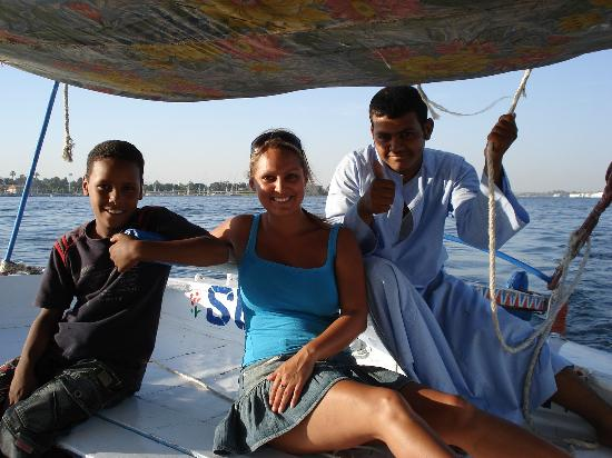 Jolie Ville Hotel & Spa - Kings Island, Luxor: The Felucca trip gets the thumbs up!