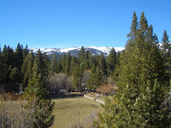 Hyatt High Sierra Lodge: View from our balcony