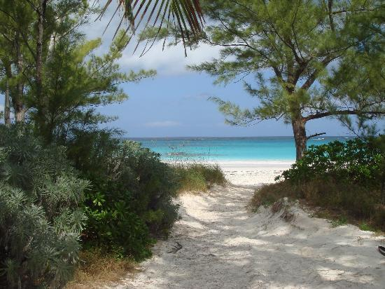 Eleuthera: Entrance to a beach