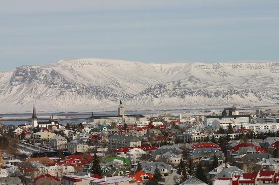 Reykjavik, أيسلندا: Picture from 'Perlan'