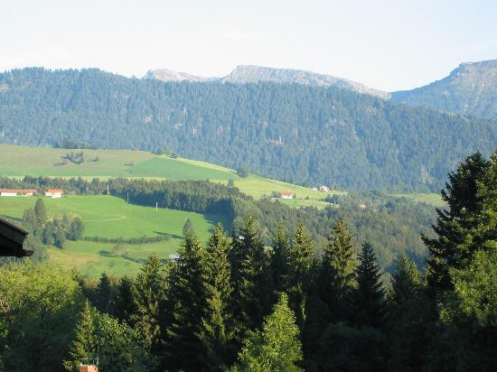 Oberstaufen, Germany: view from our deck