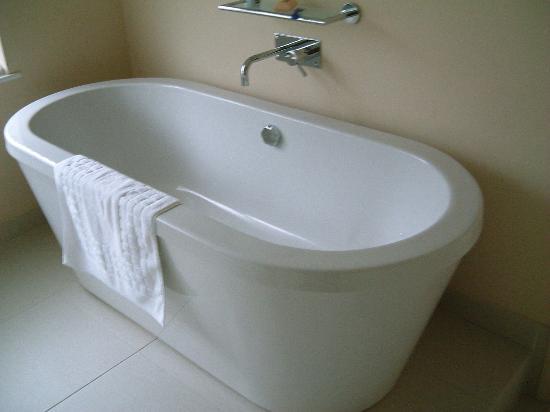 Boskerris Hotel: nice bath