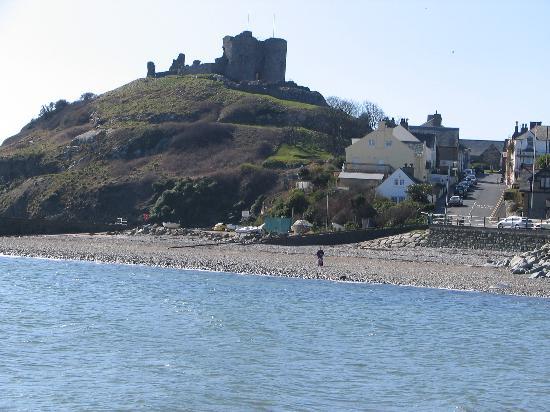 Glyn-y-Coed Hotel: Criccieth Castle