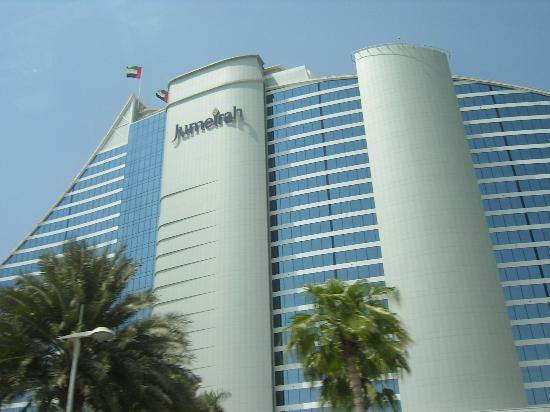 Jumeirah Beach Hotel: outside of hotel