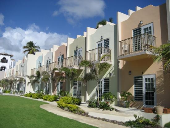 Hotel Lucia Beach Villas: The duplex beach villas