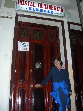Pension Corbero: Hostal Corbero Interior Door