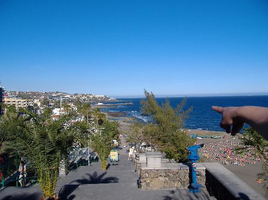 Maspalomas, İspanya: al fondo San Agustín