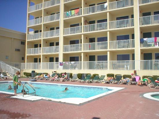 Hotels In Panama City Beach >> Tower At The Flamongo Picture Of Flamingo Motel Panama City Beach