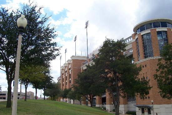 University of Texas at Austin: Outside stadium
