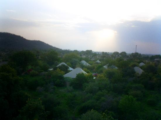 The Oberoi Vanyavilas: Tents