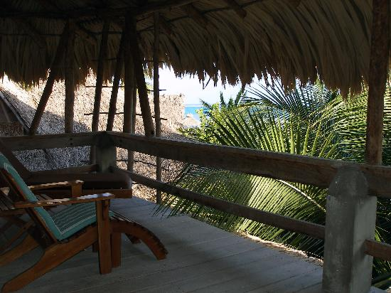 Xanadu Island Resort: Our deck (looking east)