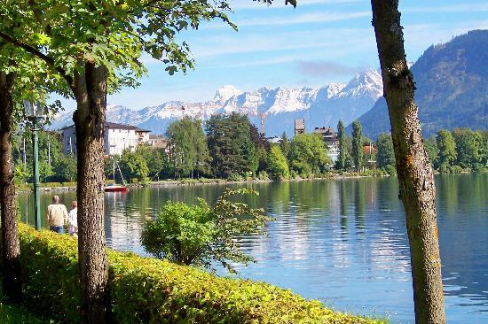 Zell am See, Autriche : Zell Lake