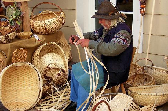 Zell am See, Austria: Basket Weaver