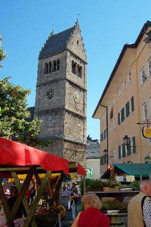 Zell am See, Austria: Town Centre square