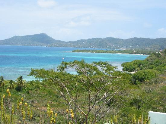 Wyspa Carriacou, Grenada: The view from our room
