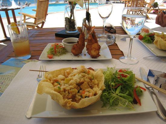 كازا فيلاز لاكشري بوتيك للبالغين فقط - شامل جميع الخدمات: Teriyaki with Shrimp Tempura