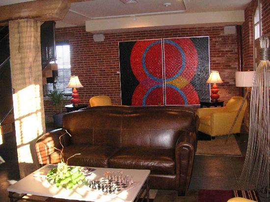 Lancaster Arts Hotel: Lobby