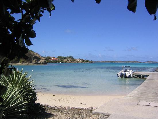 Le Francois, Martinica: l'un des accès à la mer