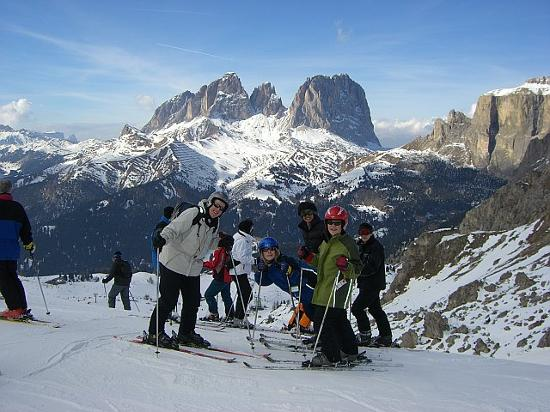 Selva di Val Gardena, Italia: Our Ski Group
