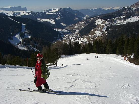 Selva di Val Gardena., Italië: Lots of Wide Runs