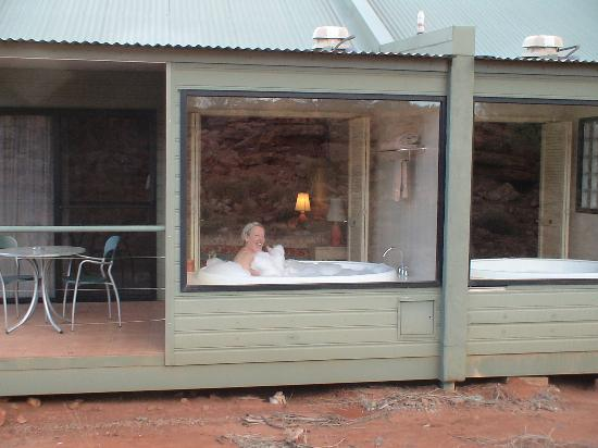 Kings Canyon, Austrália: Spa view
