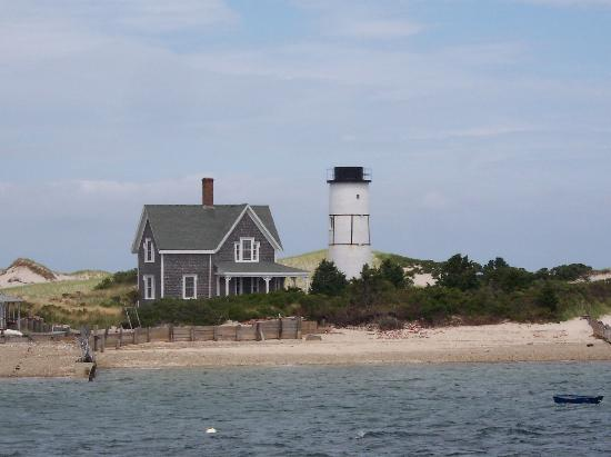 West Barnstable, MA: de-commissioned lighthouse