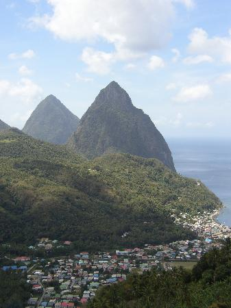 St. Lucia Pitons