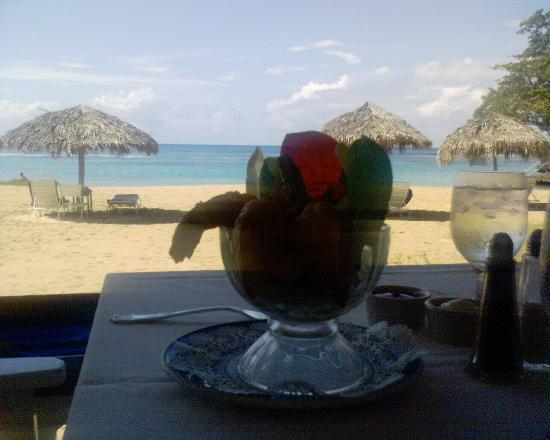 Jamaica Inn : Lunch on the Verandah