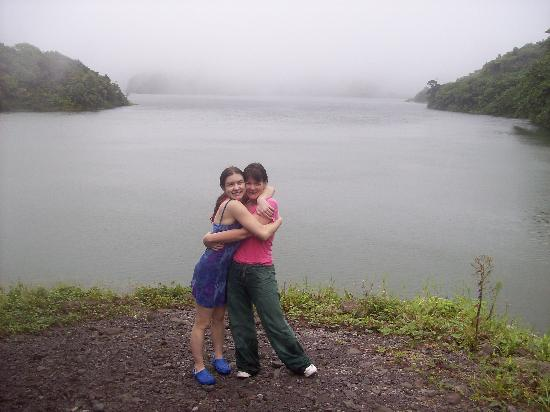 Pepper's Cottage: My daughter and I at a fresh water lake