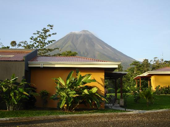 Arenal Manoa Hotel : The view from our room