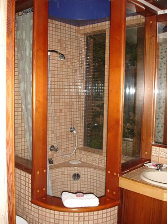 Alegria Oceanfront Inn and Cottages: Love the shower