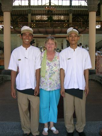 Padma Resort Legian: Harry and ? wish I had his name.