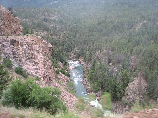 Durango, CO: views from train ride - pictures cannot do it justice