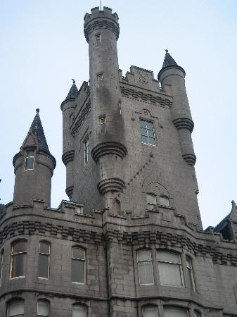 Aberdeen, UK: The Castle (not really a castle)