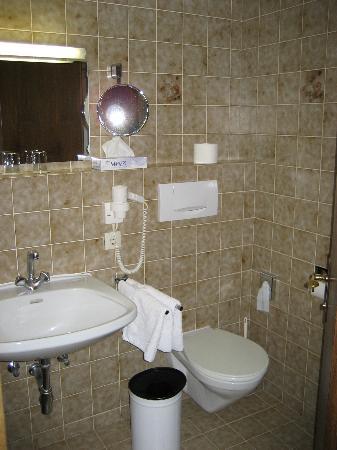 Jägerwirt Hotel: Bathroom