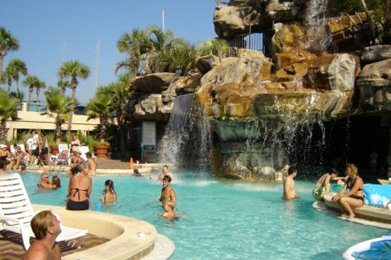 Days Inn By Wyndham Panama City Beach Ocean Front Pool Area